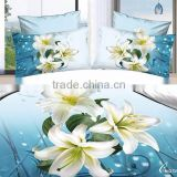 factory directly !! 100% polyester bedding sets 3d wholesale for printing flowers & plant