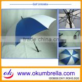 Arc 60inch White and Blue Umbrella Sun Protection Golf Umbrella OKG51