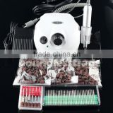 Pro Electric Nail Drill Machine Manicure Kits File Drill Bits Sanding Band Accessory Nail Salon Nail Art Tools