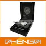 HOT SALE Factory Price custom made-in-china black piano lacquer wooden single coin gift box (ZDS-SJF038)