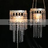 CND45 wedding decoration table centerpieces,decorative flower,crystal bead tea light holders
