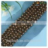 china wholesale fashion jewelry design crystal glass bead necklace curtain landing wholesale