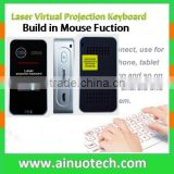 wireless laser keyboard mouse with LED screen bluetooth virtual projection keyboard for android smartphone,tablet pc and laptop
