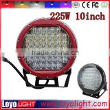 Newest super brightness 10inch 225w led driving light 225watt Driving lights for off road