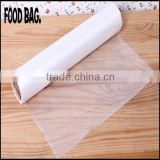 HDPE new material 9mic food grade kitchen use plastic fresh-keeping bags on roll for food packaging