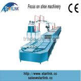 China Wenzhou 2015 Starlink New Hot Sale Best Price 19m 60 stations Production Line inject PU men shoe sole machine