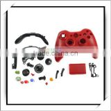 Controller Case Shell + Buttons For XBox 360 Red