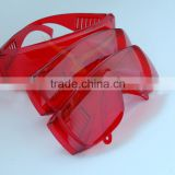 Laser Safety Goggles, Red Eye Protection Glasses with Frame, Protective Bule Laser