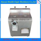 Large commercial electric ground meat cutter/stainless steel cut the meat sausage filler