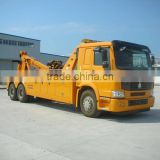 Sino Howo Euro 3 New Rotator Road Towing Wrecker Truck for sale