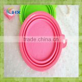 Hot Sales Collapsible Silicone Pet Bowls For Dog Feeding