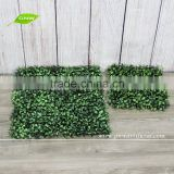 Artificial boxwood mat for sale landscaping home garden decoration artificial hedge boxwood panel
