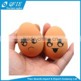 Wholesale Funny 60 grams lifelike soft rubber emotional face egg stress ball toy for pets