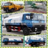 HOT Sale CLW Water Tank Truck 6 wheel Water Bowser Road Sprinkler Dongfeng 4*2 carbon steel 4mm thick