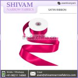Quality Tested Polyester Made Custome Size Satin Ribbon Roll