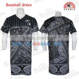 Wholesale dri fit baseball jersey custom full dye sublimation button down philippines baseball jersey