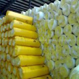 Glass wool blanket wall