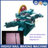 High Speed 3 Inch Length Nail Making Machine with High Production 55kg/Hour/Set