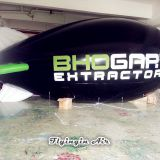 Black Advertising Inflatable Helium Blimp Air Submarine for Event