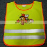 Economy security kids safety vest Conforms to EN1150 Class2