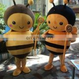 Honey bee mascot costume for kindergarden