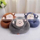 new products creative design plush animal monkey pattern hand warmer
