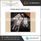 Atrractive Look Macrame Rope knot Nautical keychain Supplier