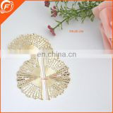 circular sector decorative metal trim for women garment