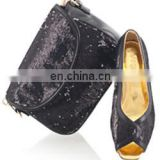 Latest hotselling black color buy shoes wholesale in china