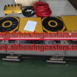 Air film transporters load capacity introduction