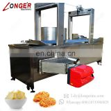 General Industrial Electric Auto Gas French Fries Spiral Potato Donut Cassava Garri Deep Fryer Chin Chin Nuts Frying Machine