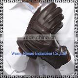 2016 Fashion Superior Genuine Lined Leather Gloves for Men Alibaba China