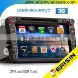 "Erisin ES9611V 8"" Car DVD GPS DVB-T SEAT SKODA GOLF 5 6"