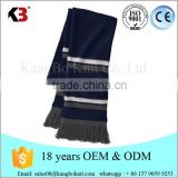Wholesale Jacquard Pattern Official National Football Cheap Plain Wholesale Infinity Scarf Knitting Pattern