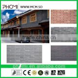 New design fashion low price flexible light weight thin suitable for high-rises 240*60 interior exterior brick wall panel