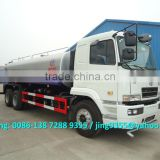 CAMC 6x4 tractor water tanker, 20ton water tanker truck, water tanker transport truck for sale