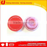 paint can lid pourer metal bottle screw cap insert