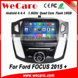 Wecaro WC-FF8088 Android 4.4.4 car dvd player touch screen for ford focus car stereo 2015 Wifi&3G                                                                         Quality Choice