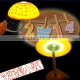 various Colors Changing Small Mushroom LED projector Night Light romantic bedroom lamp to your friend