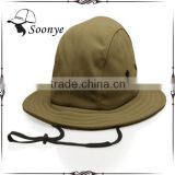 Embroidery bucket boonie custom hat/ custom boonie hat/bucket hat with string