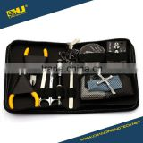 ECig DIY Tool Kit Ceramic Tweezers Coil jig Ohm DIY Kit For RDA RBA RTA Atomizer Vape Mod Master Kit