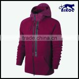 2015 latest more fashion design single custom snowboard tall red hoodies without labels