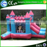 Hight quality inflatable commercial bouncy castle amusement bounces bouncy castle princess for backyard