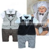 Best-selling Fashion Short Sleeve Summer Baby Boy Romper clothing Set                                                                         Quality Choice