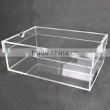 Customize OEM Clear acrylic/plexiglass box shoes