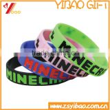 OEM Hot Selling Debossed Silicone Rubber Wristband/Wholesale Silicone Bracelet For Promotion, Party, Decorate