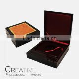 Wooden coin packing box