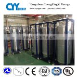 175L Cryogenic Welding thermal insulation Cylinder For Liquid Oxygen Nitrogen Gas Cylinder