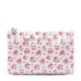 INQUIRY ABOUT Vintage Toiletry Bag Canvas with PVC Coating Material Waterproof Mini Cosmetic Bag