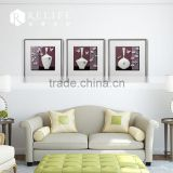 art work PS line Frame with hanging wall mount frame